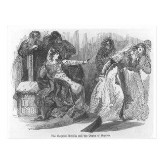 皇后Matildaおよびスティーブンの女王 ポストカード