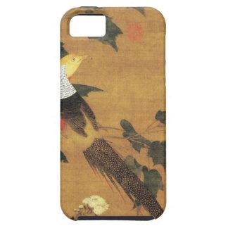 皇帝による金キジそして綿のばら色の花 iPhone SE/5/5s ケース