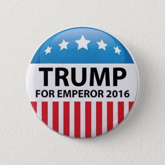 皇帝のキャンペーンボタンのための切札 5.7CM 丸型バッジ