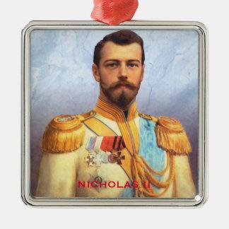 皇帝のニコラスIIのクリスマスのオーナメント メタルオーナメント