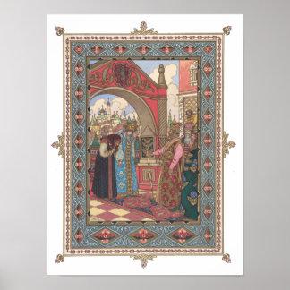 皇帝の前のVassilissa及び祖母 ポスター