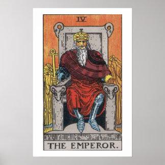 皇帝の占いカードポスター ポスター