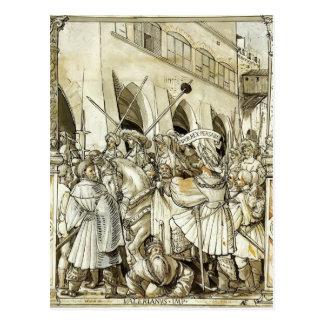 皇帝の吉草根のハンズHolbein-の屈辱 ポストカード