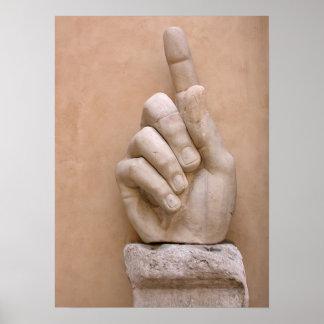 皇帝の指 ポスター