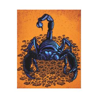 皇帝の蠍 キャンバスプリント