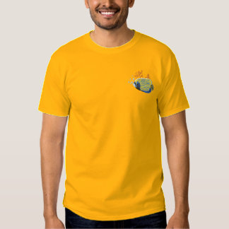 皇帝のAngelfish 刺繍入りTシャツ