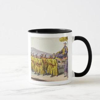 皇帝のCh'ienの肺によって運ばれる勝利は、18 fをめっきします マグカップ