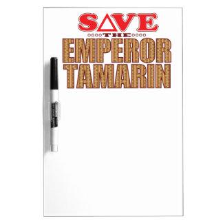 皇帝のTamarinの保存 ホワイトボード