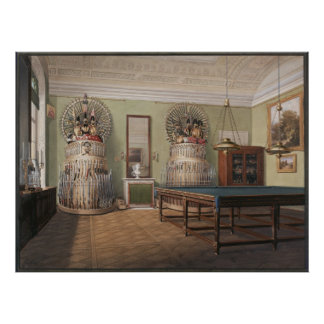 皇帝アレキサンダーのビリヤード室II ポスター