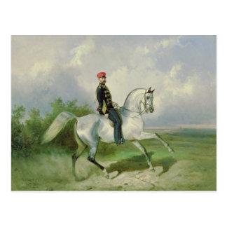 皇帝アレキサンダーのポートレートII 1876年 ポストカード