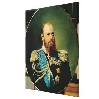 皇帝アレキサンダーIII キャンバスプリント