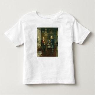 皇帝ウィルヘルムが付いているビスマルクI トドラーTシャツ