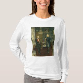 皇帝ウィルヘルムが付いているビスマルクI Tシャツ