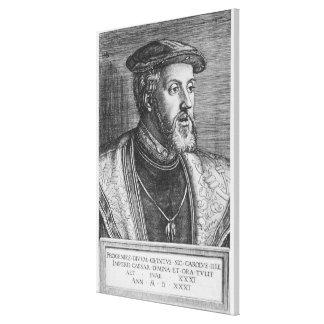 皇帝チャールズV 1531年 キャンバスプリント