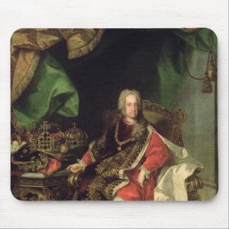 皇帝チャールズVI、c.1730、 マウスパッド