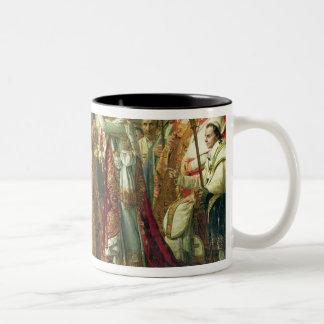 皇帝ナポレオンの神聖化 ツートーンマグカップ
