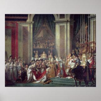 皇帝ナポレオンの神聖化 ポスター