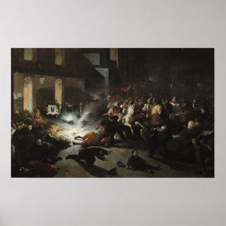 皇帝ナポレオンの試みられた暗殺 ポスター