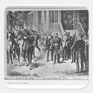 皇帝ナポレオンIIIおよびKaiserウィルヘルムI スクエアシール