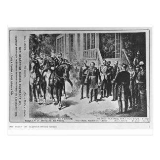 皇帝ナポレオンIIIおよびKaiserウィルヘルムI ポストカード