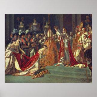 皇帝ナポレオンlの神聖化 ポスター