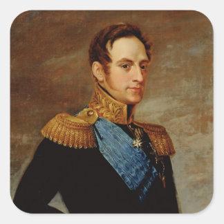 皇帝ニコラスのポートレートI 1826年 スクエアシール