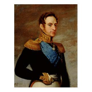 皇帝ニコラスのポートレートI 1826年 ポストカード