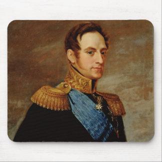 皇帝ニコラスのポートレートI 1826年 マウスパッド