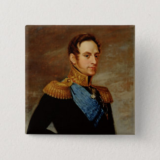 皇帝ニコラスのポートレートI 1826年 5.1CM 正方形バッジ