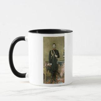 皇帝ニコラスのポートレートII 1895年 マグカップ