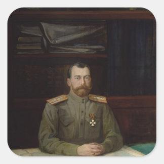 皇帝ニコラスのポートレートII 1914年 スクエアシール