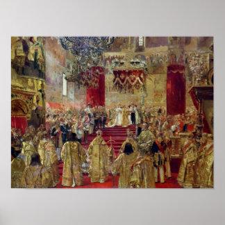 皇帝ニコラスの即位のための勉強II ポスター