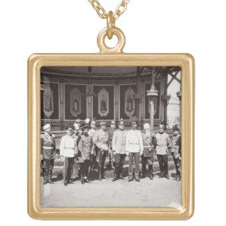 皇帝ニコラスgardeに立つII (1868-1918年) ゴールドプレートネックレス