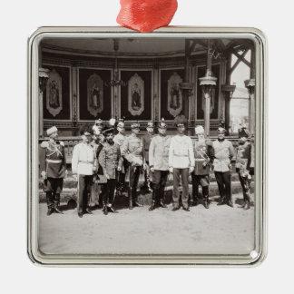 皇帝ニコラスgardeに立つII (1868-1918年) メタルオーナメント