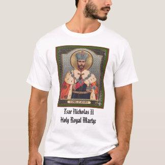 皇帝ニコラスIIの皇帝のニコラスIIの神聖で王室のな市場 Tシャツ