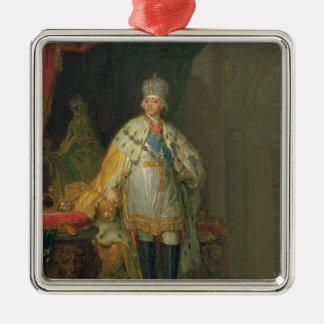 皇帝ポールのポートレートI 1800年 メタルオーナメント