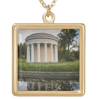 皇帝ポールの宮殿Iの友情の寺院 ゴールドプレートネックレス
