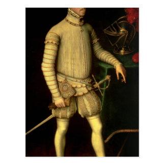 皇帝マクシミリアンのポートレートII 1557年 ポストカード