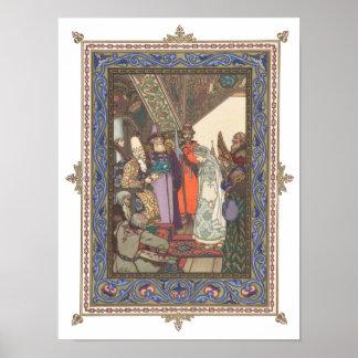 皇帝Berendeiの前のSnegurochka ポスター