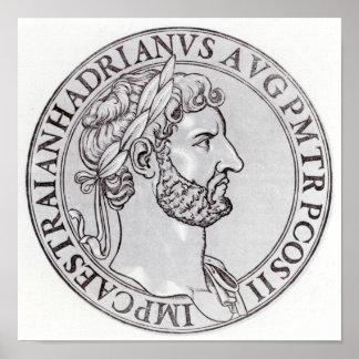 皇帝Hadrian ポスター