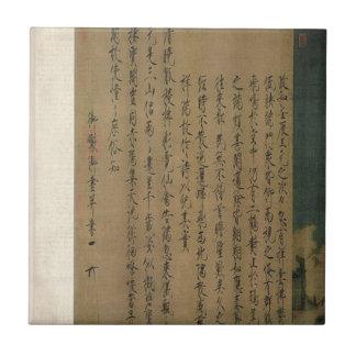 皇帝Huizongによる幸運なクレーン タイル