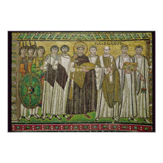皇帝Justinian I ポスター