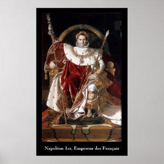 皇帝Napoleon Bonaparte ポスター