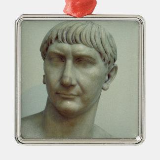 皇帝Trajanのポートレート メタルオーナメント