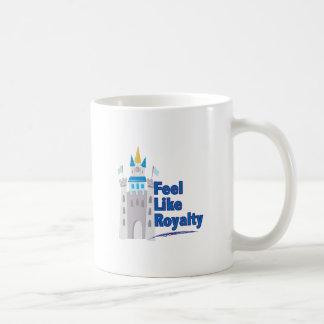 皇族のように感じて下さい コーヒーマグカップ