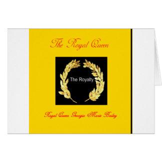 皇族。 ジョージアMarieベイリー王室のな女王 カード