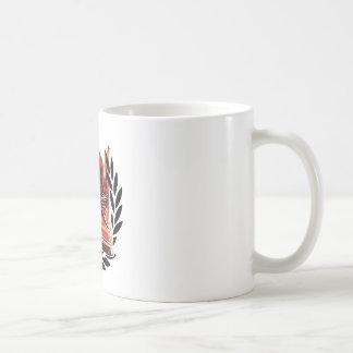 皮のブーツ コーヒーマグカップ