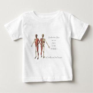 皮の下 ベビーTシャツ
