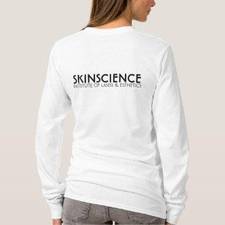皮の科学によって合われるフード付きスウェットシャツ Tシャツ