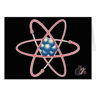 皮肉な原子挨拶状 カード